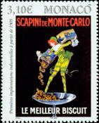 Monaco - Scapini småkager - Postfrisk frimærke