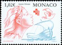 Monaco - Red Cross - Mint stamp