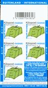 Belgique - Colis postal - Bloc de carnet neuf bleu
