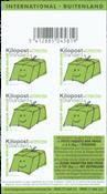 Belgique - Colis postal - Bloc de carnet neuf - vert