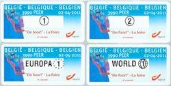 Belgique - La foire - Série neuve distributeur