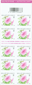 Belgien - Petunia - Petunia: Postfrisk frimærkehæfte