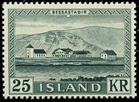 Iceland 1957 - AFA no.320 - Mint
