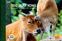 Netherlands - 100 years Burgers Zoo - Mint Prestige booklet