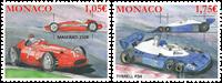 Monaco - Formel 1 biler - Postfrisk sæt 2v