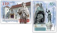Hungary - Day of Stamp - Mint set 2v