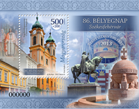 Hungary - Day of Stamp - Mint souvenir sheet
