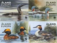 Åland - Ænder - Postfrisk frimærkehæfte