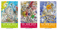 Austria - Alpine Ski World Championships 2013 - Mint set 3v
