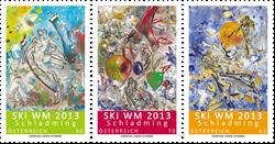 Østrig - Ski Verdensmesterskab - Postfrisk sæt 3v