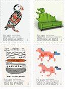 Island - Design - Postfrisk sæt 4v