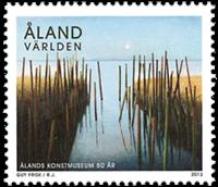 Åland - Cinquantenaire du Musée d'Art - Timbre neuf