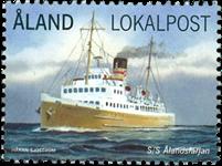 Åland - Le ferry vers Åland - Timbre neuf
