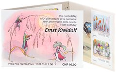 Suisse - Contes - Carnet neuf