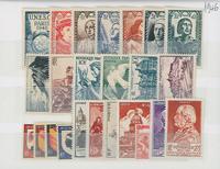 France 1940-1989 s/12 mois