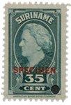 Suriname - Wilhelmina 1945 - No 235 - Neuf