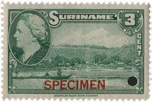 Suriname - Wilhelmina 1945 - No 224 - Neuf