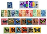 Suriname - Luchtpostzegels 1954-1972 compleet (nr.LP32-LP59, postfrisk)