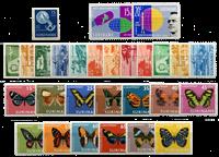 Suriname - Luchtpostzegels 1954-1972 compleet (nr.LP32-LP59, postfris)