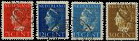 Holland 1940 - NVPH D16a-D19a - Stemplet