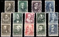 Nederland - Zomerzegels 1937+1938+1939 (Stemplet)