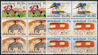 Holland 1976  - Børn frimærker - 4-blok