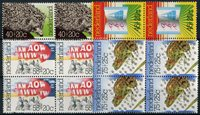 Nederland Zomerzegels 1976 in blokken van 4 - Nr. 1085-1088 - Postfris