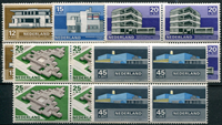 Netherlands 1969 - NVPH 920-924 - Mint - 4 block