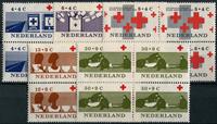 Netherlands 1963 - NVPH 795-799 - Mint - 4 block