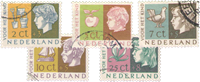 Netherlands 1953 - NVPH 612-616 - Cancelled