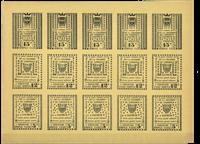 Frankrig Strejkemærker Saumur 1953