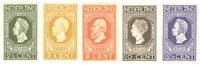 Nederland 1913 - Nr. 90-94 - Postfris