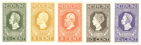 Holland 1913 - NVPH 90-94 - Postfrisk