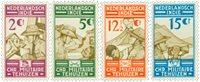 Nederlands Indië 1935 - Nr. 217-220 - Ongebruikt