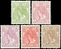 Holland - NVPH 57-61 - Postfrisk