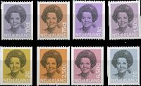 Koningin Beatrix 1981-1990 1238A-1251A, postfris
