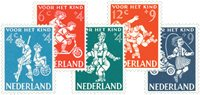 Holland 1958 - NVPH 715-719 - Postfrisk