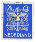 Holland - NVPH D12 - Stemplet