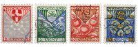 Holland 1926 - NVPH 199-202 - Stemplet