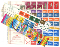Netherlands Antilles - All stamp booklets complete  - 1977-1997 - 13 PCS