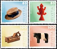 Switzerland - Pro Patria - Mint set 4v