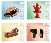 Schweiz - Pro Patria - Postfrisk sæt 4v