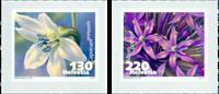 Suisse - Fleurs comestibles - Série neuve 2v