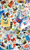 Rúsia - 500 sellos + 50 hojas bloque en nuevo