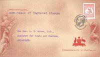 澳大利亚 - 印有乔治五世的刻 - 珍藏信封