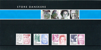 Danmark - .Souvenirmappe Store dansker