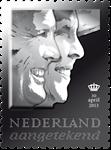 Holland - Tronskifte - Flot sølvfrimærke