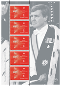 Netherlands - King Willem - Nice sheetlet