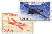 France 1954 - YT PA 31-32 - Neuf sans charnière