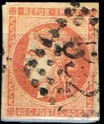 Frankrig - YT 48D - Stemplet